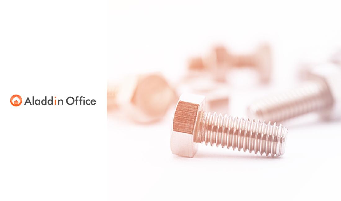 ねじ製造業・卸売業向け販売・在庫・生産管理システム「アラジンオフィス」をバージョンアップして提供開始